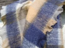 denim stone mohair throw blanket detail01