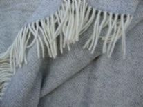 grey parquet lambswool throw blanket 01