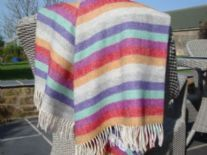 fairground stripe lambswool throw blanket05